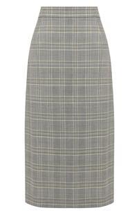 Шерстяная юбка Escada 6993174