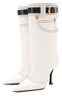 Текстильные сапоги Versace 8869811
