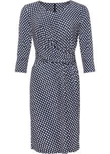 Платье с драпировкой bonprix 260888068
