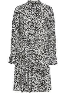 Платье-рубашка с принтом bonprix 260800676