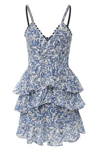 Платье с оборками VICTORIA, VICTORIA BECKHAM 8494625
