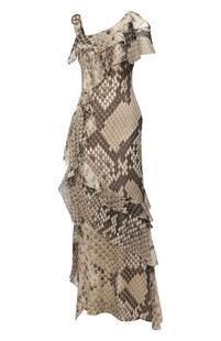 Шелковое платье Roberto Cavalli 8492812
