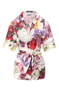 Шелковая блузка Dolce&Gabbana 8645741
