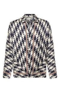 Рубашка из вискозы Dries Van Noten 7911980