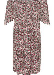 Платье с открытыми плечами bonprix 260488111