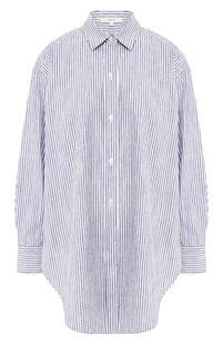 Рубашка из смеси хлопка и вискозы VINCE. 8887066