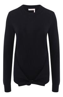 Пуловер из смеси шерсти и хлопка See by Chloe 7519196