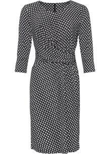 Платье с драпировкой bonprix 260888064