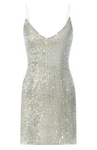 Платье с пайетками WALK OF SHAME 7971949