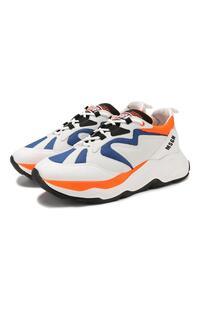 Комбинированные кроссовки MSGM 8221863