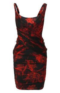 Платье с драпировкой Roberto Cavalli 8407587