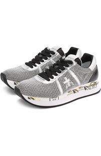 Комбинированные кроссовки Conny на шнуровке PREMIATA 2370103