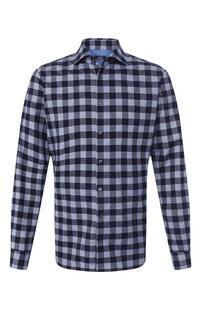 Хлопковая рубашка Van Laack 7680049