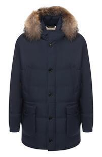 Пуховая куртка с капюшоном Loro Piana 6863331