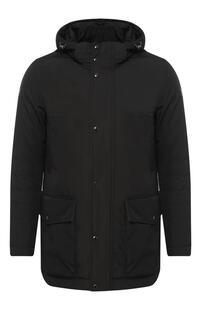 Утепленная куртка на молнии с капюшоном Paul Shark 6594013