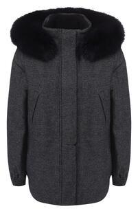 Куртка из смеси кашемира и шерсти Loro Piana 6648389
