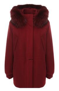 Кашемировая куртка с капюшоном Loro Piana 6613480