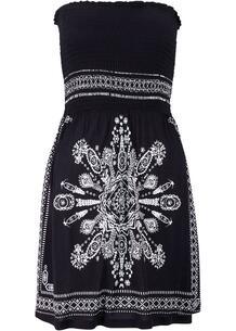 Пляжное платье бандо bonprix 260606499