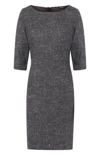 Платье из смеси шелка и шерсти Kiton 6283521