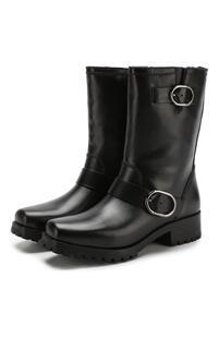 Кожаные ботинки Rosario с внутренней отделкой из овчины Michael Michael Kors 6338814