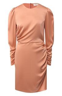 Шелковое платье с драпировкой Zimmermann 6340788