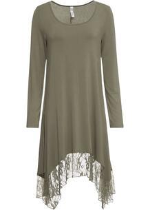 Платье с кружевной юбкой bonprix 260397154