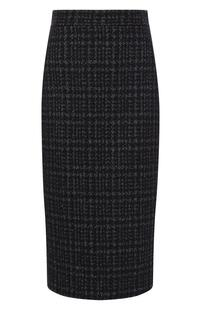 Твидовая юбка Kiton 6283255