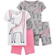 Пижама 2 шт carter's для девочки Carter`s 10697608