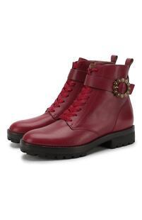 Кожаные ботинки Ryder на шнуровке Michael Michael Kors 5902077
