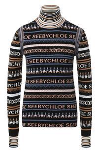 Водолазка с логотипом бренда See by Chloe 5969165