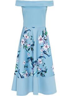Платье с открытыми плечами bonprix 260205614