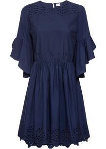 Платье с вышивкой ришелье bonprix 259323058