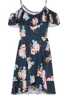 Платье с вырезами на плечах bonprix 259952978