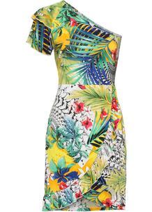 Платье на одно плечо bonprix 259953120