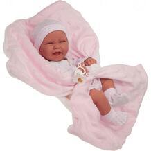 Кукла-младенец Juan Antonio Ирен в розовом 42 см 10507238