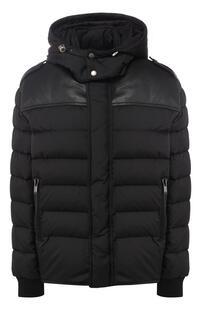 Стеганая куртка с капюшоном Yves Saint Laurent 5583528