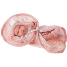 Кукла-младенец Juan Antonio Луиза в розовом 33 см 10507589