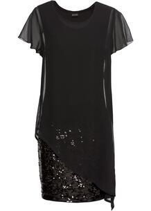 Платье с пайетками bonprix 259549154