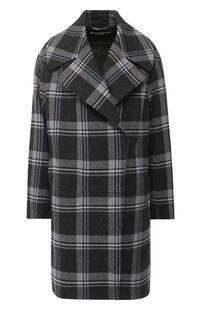 Шерстяное пальто в клетку Stella Mccartney 5704670