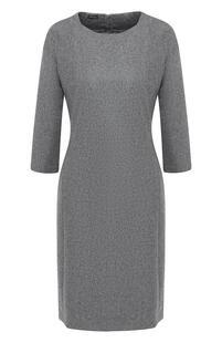 Шерстяное платье с круглым вырезом Kiton 5374900