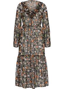 Шифоновое платье макси bonprix 257280592