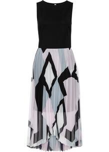Платье с плисированной юбкой bonprix 259327166