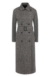 Кашемировое пальто с поясом Loro Piana 4310256