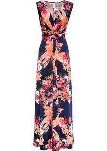 Платье макси с драпировкой bonprix 259182213