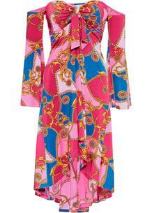 Платье бандо с принтом bonprix 259182150