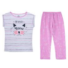 Пижама футболка/шорты Batik Наряды для Софи, цвет: розовый 10504598