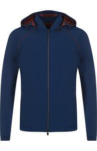 Куртка на молнии с капюшоном Loro Piana 3695467