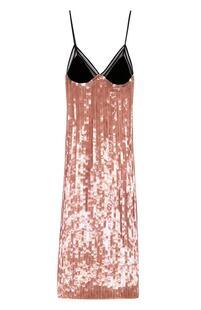 Платье-комбинация с пайетками Tom Ford 2090918