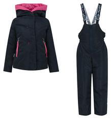 Комплект куртка/брюки Аврора Соня, цвет: синий/фуксия Avrora 10384145