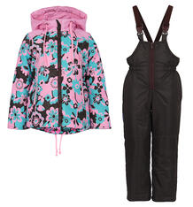 Комплект Аврора Сладкоежка, цвет: розовый/коричневый Avrora 10348310
